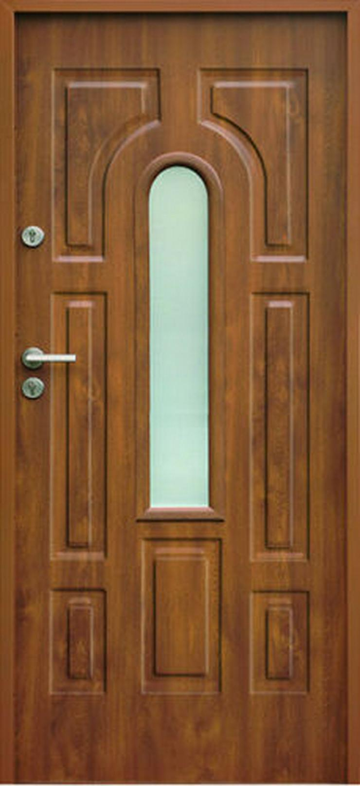 Bild 5:  Eingangstür Haustür Stahltür Wohntür Tür 70 80 90 100 Breite 7Farben 52mm Opus W3