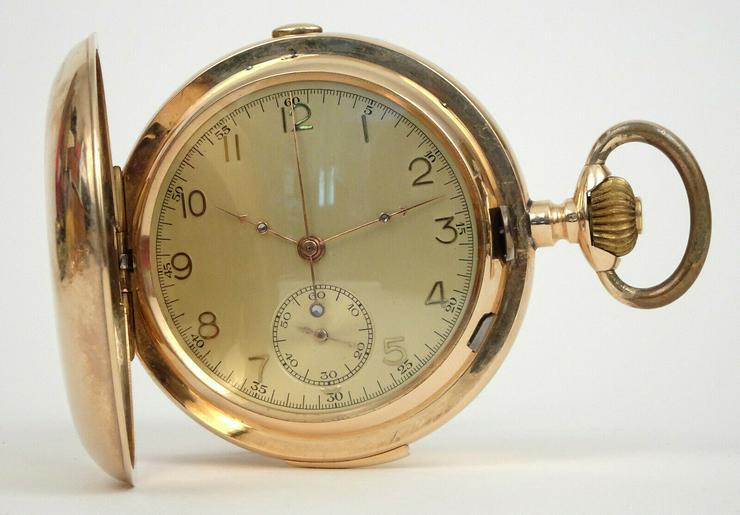 Bild 6: Taschenuhr Antike Gold!