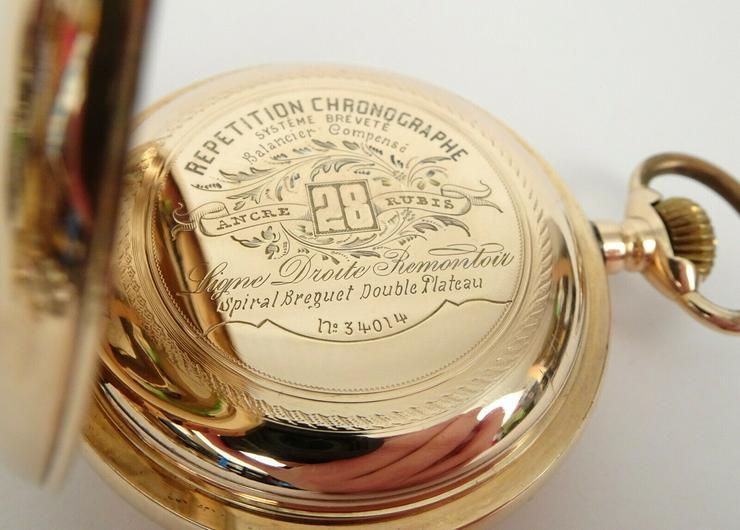 Bild 2: Taschenuhr Antike Gold!