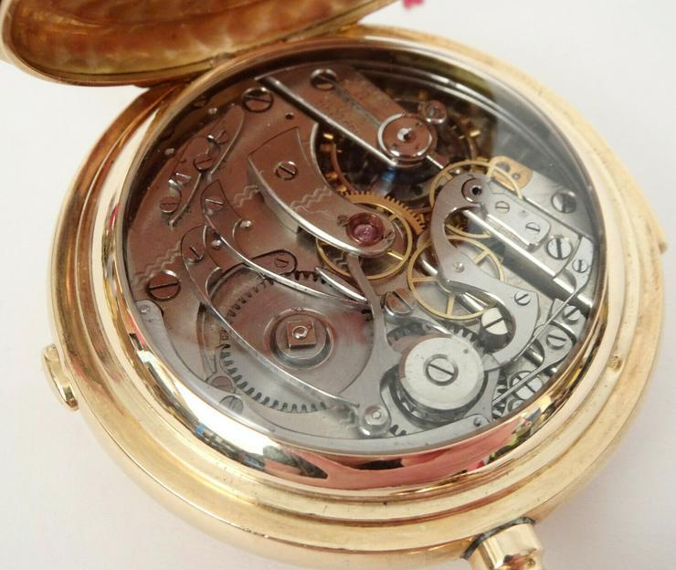 Bild 3: Taschenuhr Antike Gold!