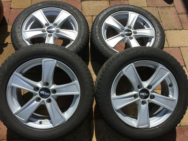 Winter Alu Räder für Golf Seat Skoda u andere, Dunlop 205/55 R16 6 u 8mm sper Zustand