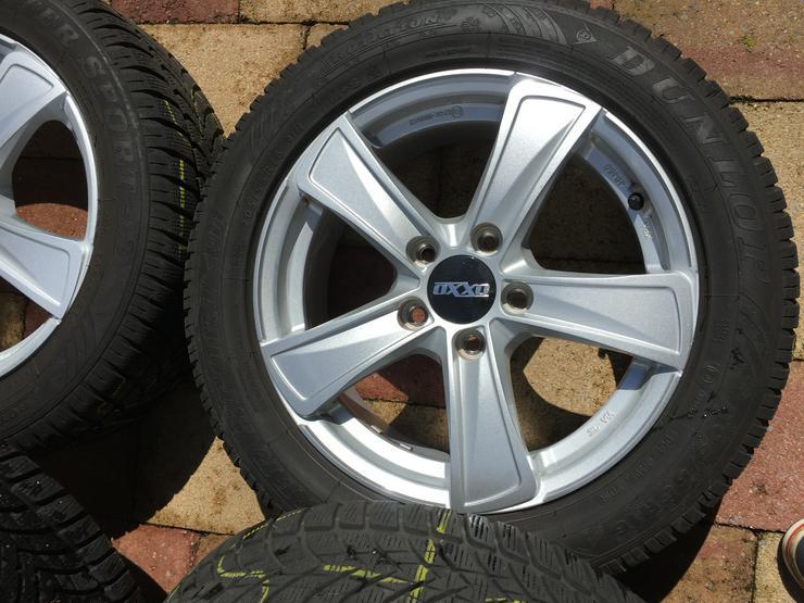 Bild 4: Winter Alu Räder für Golf Seat Skoda u andere, Dunlop 205/55 R16 6 u 8mm sper Zustand
