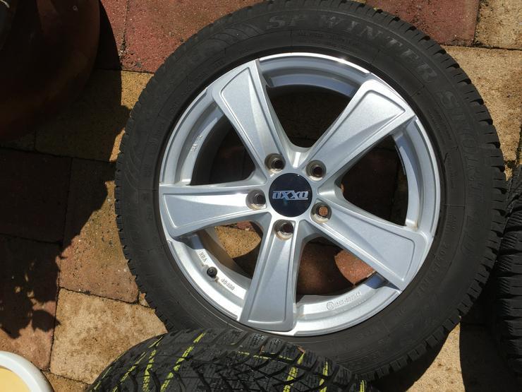 Bild 5: Winter Alu Räder für Golf Seat Skoda u andere, Dunlop 205/55 R16 6 u 8mm sper Zustand