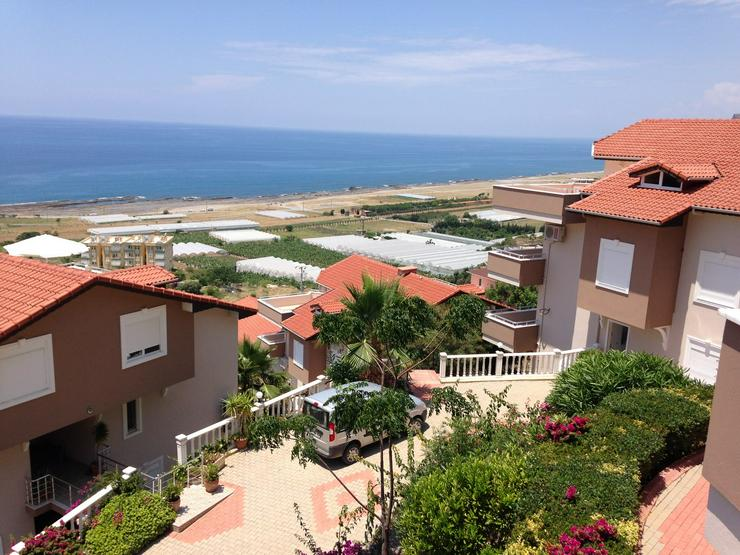 Bild 4: Türkei, Alanya, Budwig, 4 Zi. Duplexwohnung, ruhige Lage,1500 m Strand, Meerblick, 300