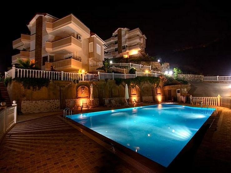 Türkei, Alanya, Budwig, 4 Zi. Duplexwohnung, ruhige Lage,1500 m Strand, Meerblick, 300
