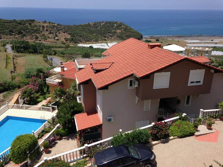 Bild 3: Türkei, Alanya, Budwig, 4 Zi. Duplexwohnung, ruhige Lage,1500 m Strand, Meerblick, 300