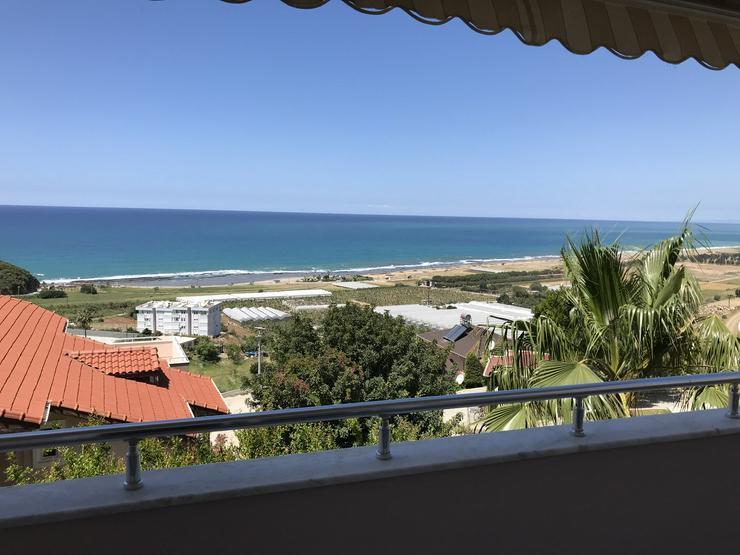Türkei, Alanya, Budwig, 3 Zi. Wohnung, ruhige Lage, 1500m zum Strand, Hanglage mit Meerblick, 299