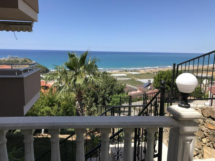 Bild 3: Türkei, Alanya, Budwig, möbl. 3 Zi. Wohnung, ruhige Lage, nah am Strand, Hanglage mit Meerblick, 298
