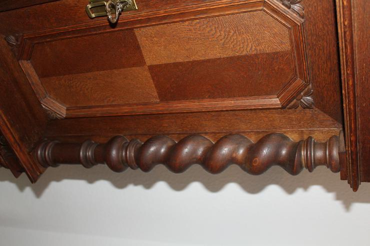Bild 5: Repräsentative Danziger Barock Gruppe 1880, Kredenz+ Kommode