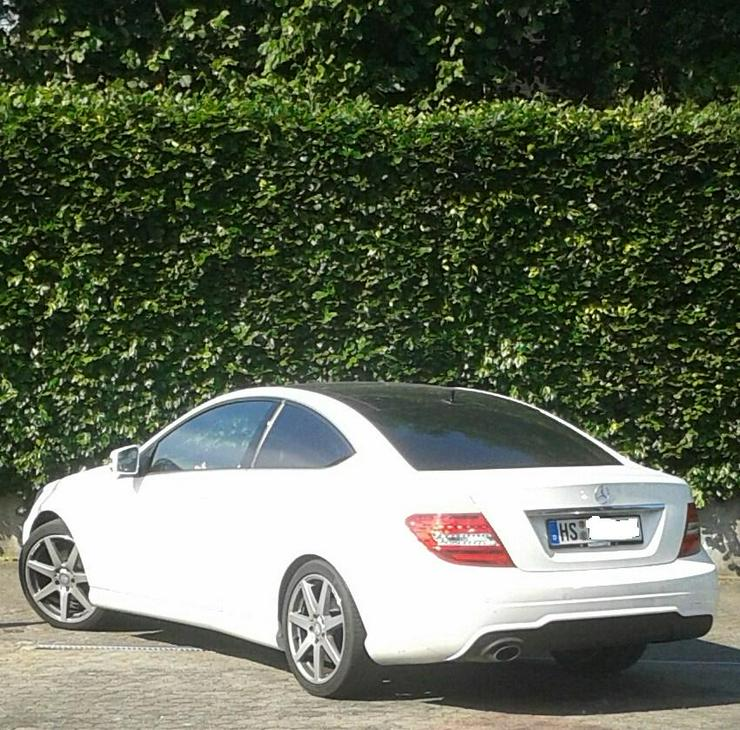 Mercedes 180 C Coupe Panoramaschiebedach AMG-Optik