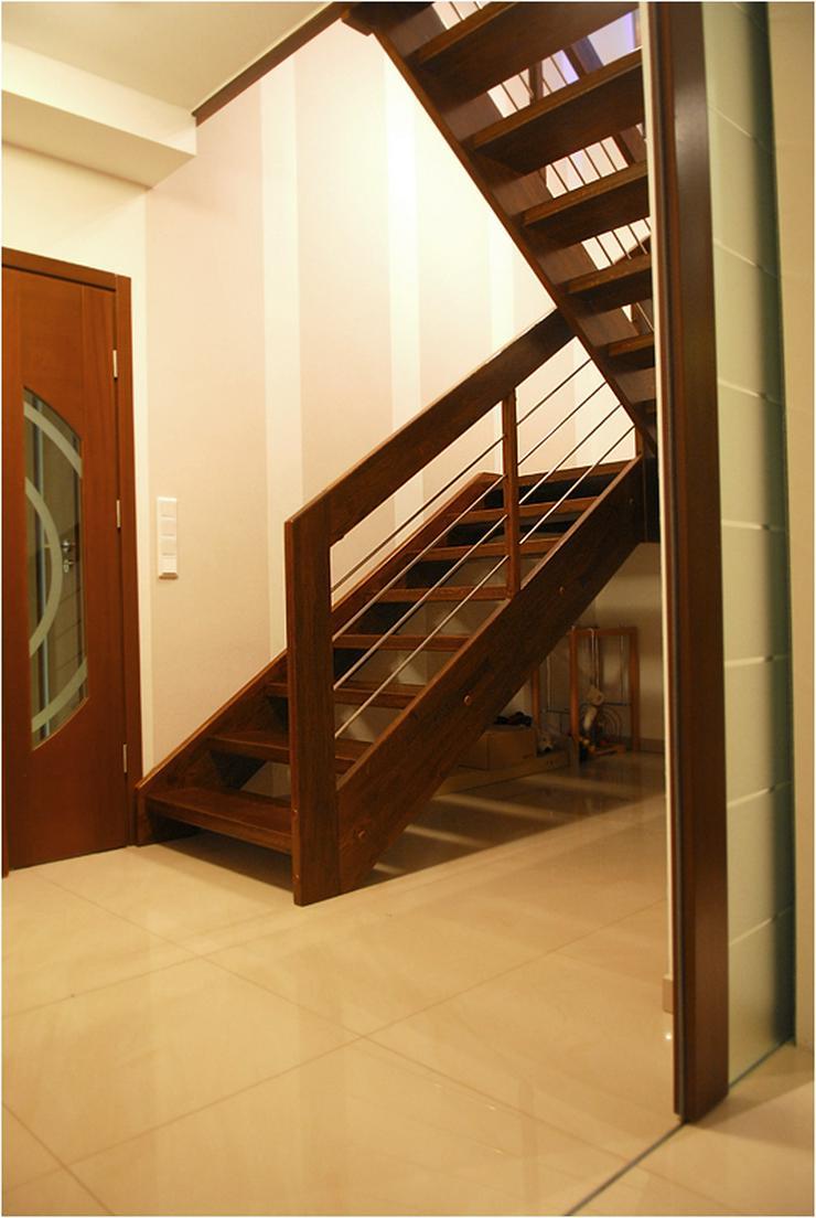 Bild 4: Holztreppen Fertigung der Holztreppen