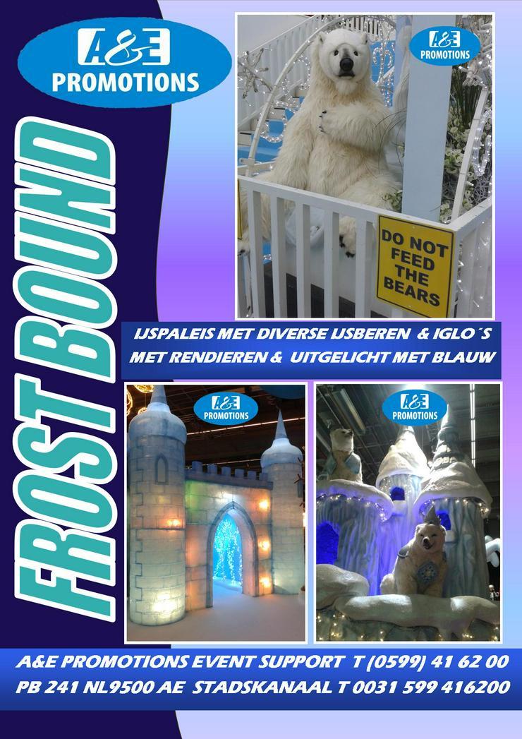 Bild 2: eis requisiten verleihj eisthron volleig unverfroren deko mieten