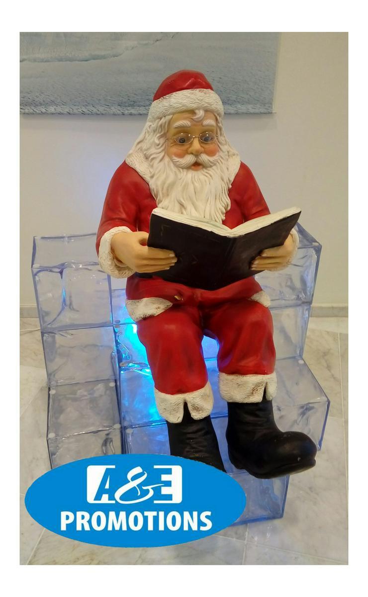 Bild 3: weihnachtsmann rentieren weiss und schlitten mieten bremen oldenburg