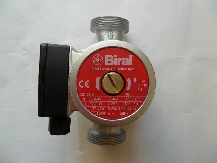 Bild 1: Heizungspumpe BIRAL MX 13-2 (32-6) , unbenutzt