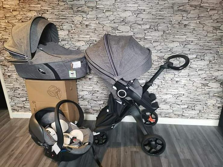 stokke xplory v6 kompletter kinderwagen 3 in 1 - Spielzeug für Babys - Bild 1
