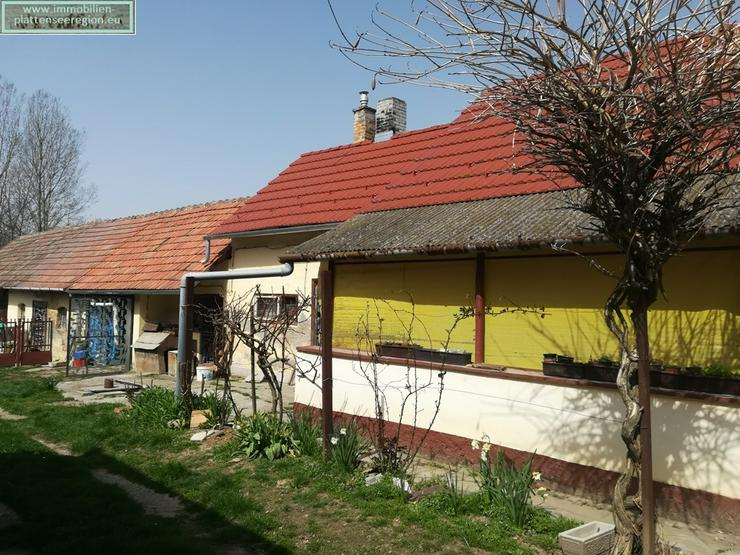 Haus mit neuem Dach Ungarn Balatonr. Grdst.1.764m ²Nr.20/115