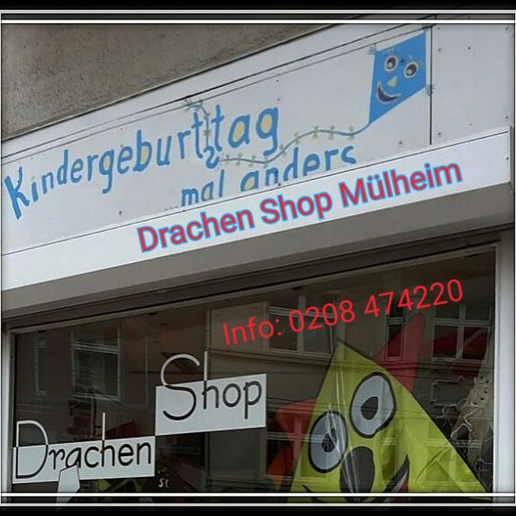 Bild 3: Im Kindergarten einen Drachen mit Papa / Mama basteln..oder einen Kindergeburtstag im Drachenshop Mülheim Feiern.