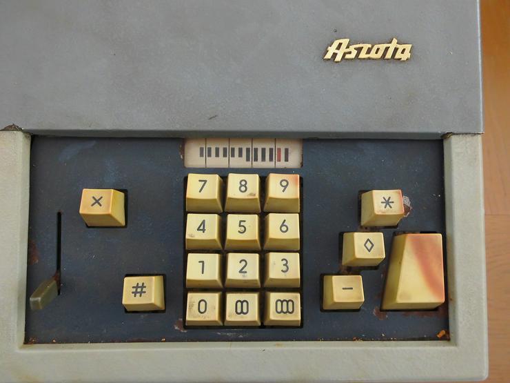 Bild 2: Rechenmaschine Ascota 114 super Zustand - Rarität, da nur noch 2 Stück in D existieren