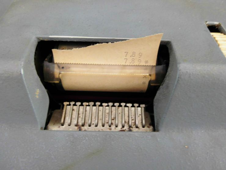 Bild 3: Rechenmaschine Ascota 114 super Zustand - Rarität, da nur noch 2 Stück in D existieren