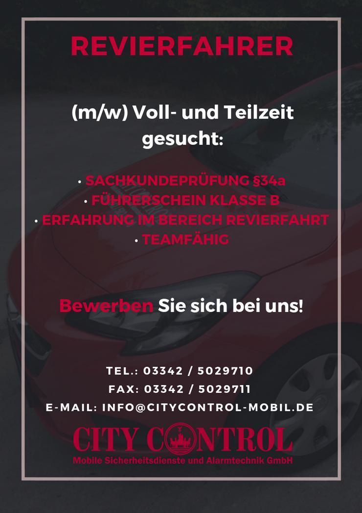 Revierfahrer (m/w/d) für Zehlendorf/Wannsee gesucht ab sofort