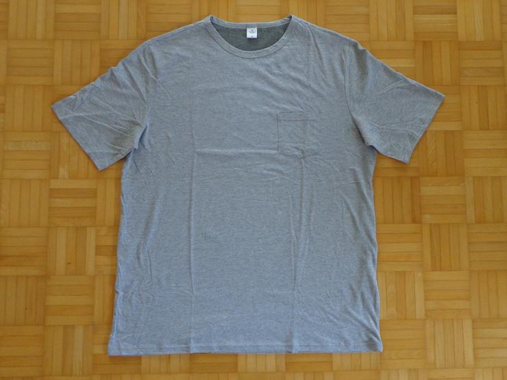 T-Shirt aus 90% Bio-Baumwolle mit Brusttasche, Da-Gr. 56/58 bzw. XXL, He-Gr. XXXL =NEU=