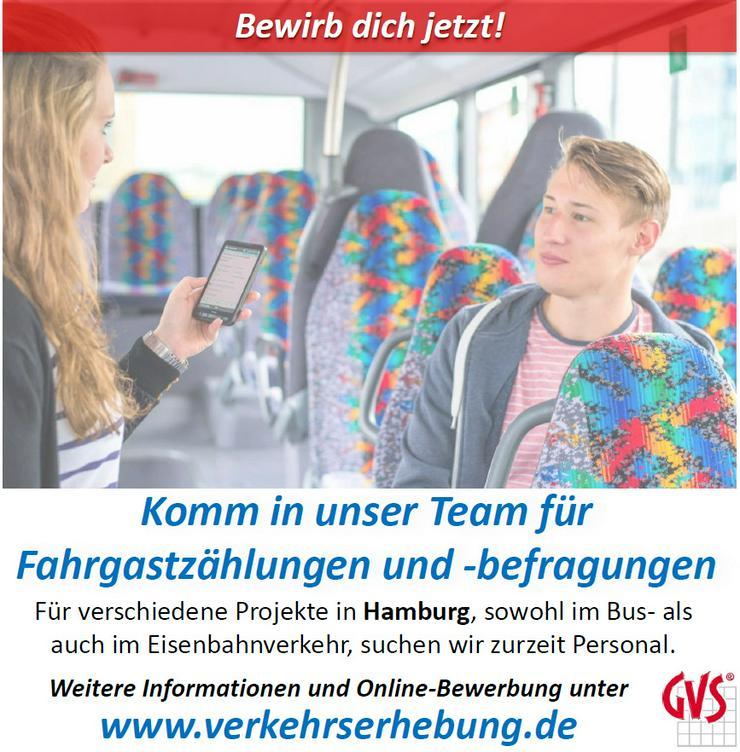 Nebenjob/Minijob Fahrgastbefragung/-zählung