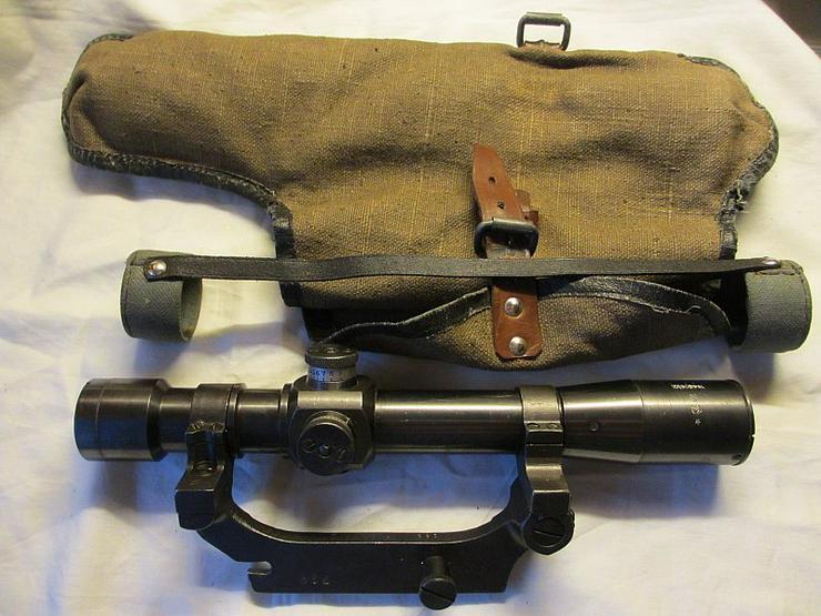 Zielfernrohr PE 1943 fur Mosin aus Wk2