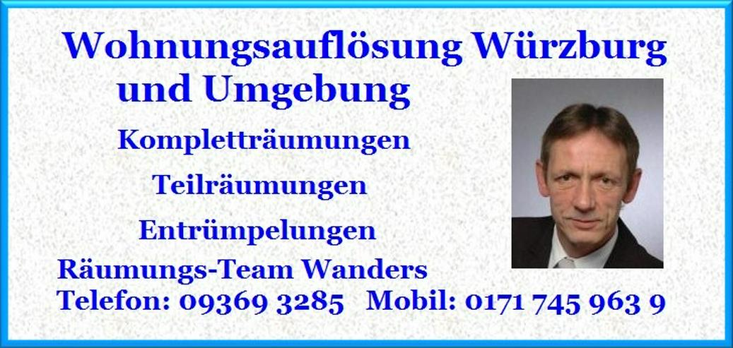 Bild 3: Wohnungsauflösung Haushaltsauflösung Entrümpelung Würzburg und Umgebung