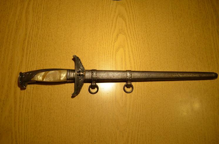 Dolch Diplomat aus Wk2, Original Eickhorn Solingen