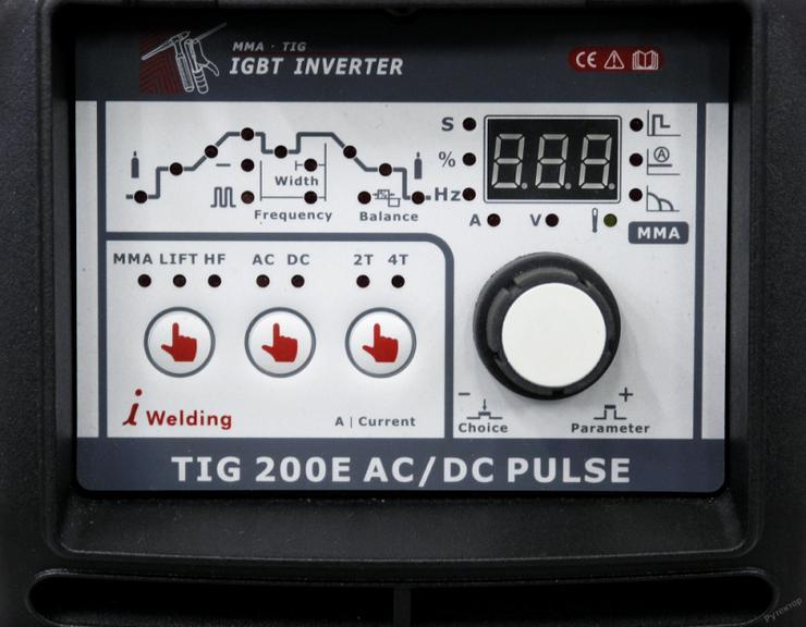 Bild 2: WIG-Schweißgerät, WTL TIG200EACDC mit Remote & Pulsfunktion, neu mit Garantie