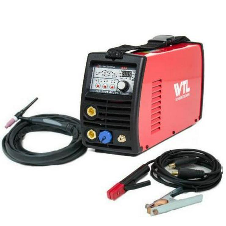 WIG-Schweißgerät, WTL TIG200EACDC mit Remote & Pulsfunktion, neu mit Garantie - Metallverarbeitung & Fahrzeugbau - Bild 1