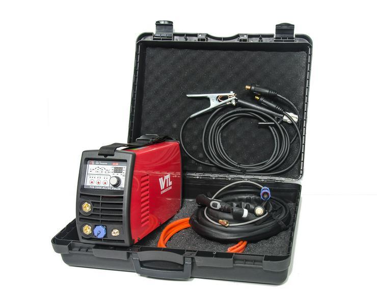 Bild 3: WIG-Schweißgerät, WTL TIG200EACDC mit Remote & Pulsfunktion, neu mit Garantie