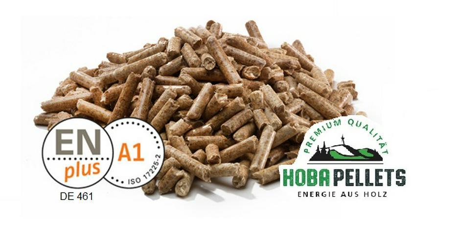 Premium Holzpellets lose Heizpellets HoBa Pellets ENPlus A1