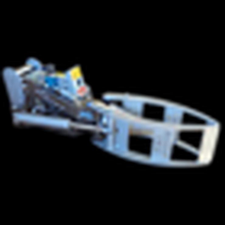 Kegelspalter mit Greifer Black Splitter SG1 Holzspalter / Erdbohrer / Holzgreifer
