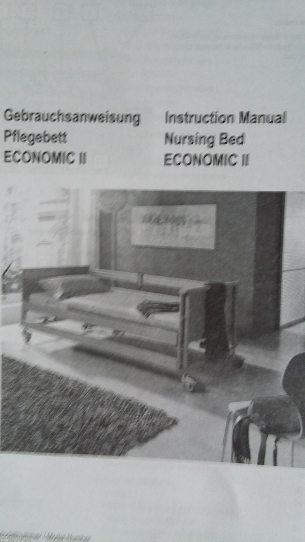 Pflegebett aus Haushaltsauflösung günstig abzugeben