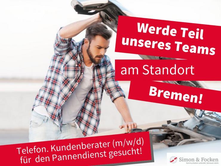 Telefonische Kundenberater (m/w/d) im Pannenservice (Mobilität) gesucht!