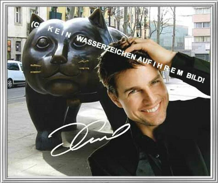 TOM CRUISE Souvenir Deko Design Geschenk Kunstdruck Autogramm Star Foto Memorabilie Andenken Bild Dekoration Selfie Lifestyle