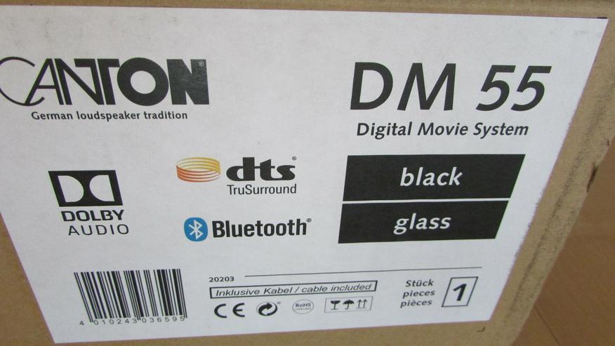 Bild 5: Canton DM 55 Soundbar der Spitzenklasse, Testsieger, UVP 499,- neu in OVP