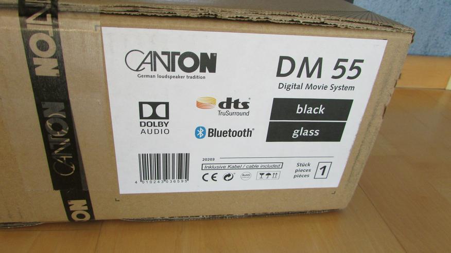 Bild 4: Canton DM 55 Soundbar der Spitzenklasse, Testsieger, UVP 499,- neu in OVP