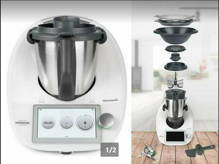 TM6 *NEU* originalverpackt mit Cookidoo, Rechnung, GRATIS VERSAND - Mixer & Küchenmaschinen - Bild 1