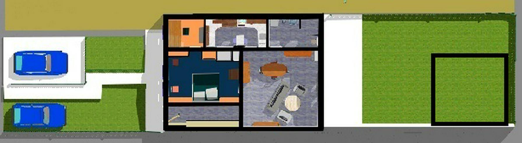 Wohnungseigentum mit Grundstück und Nebengelass