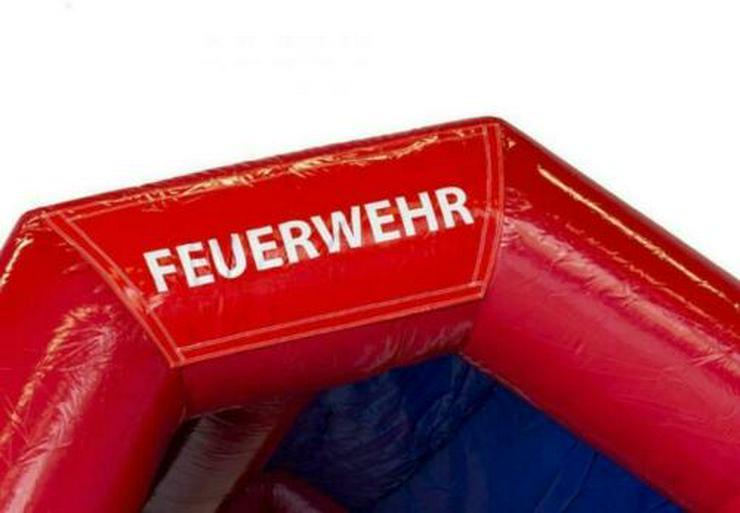 Bild 2: Hüpfburg Feuerwehr mit Rutsche mieten 99 €/ 1 Tag