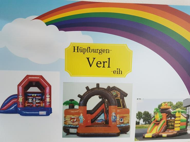 Bild 5: Hüpfburg Feuerwehr mit Rutsche mieten 99 €/ 1 Tag