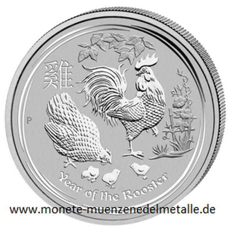 Bild 6: Australien 25 Cent bis 8 Dollar Lunar II .Silbermünzen
