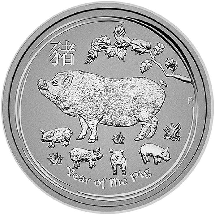 Bild 3: Australien 25 Cent bis 8 Dollar Lunar II .Silbermünzen