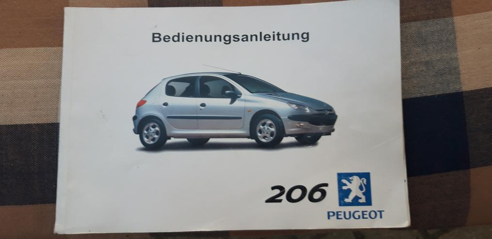 Peugeot 206 Bedienungsanleitungen PKW Auto - Weitere - Bild 1