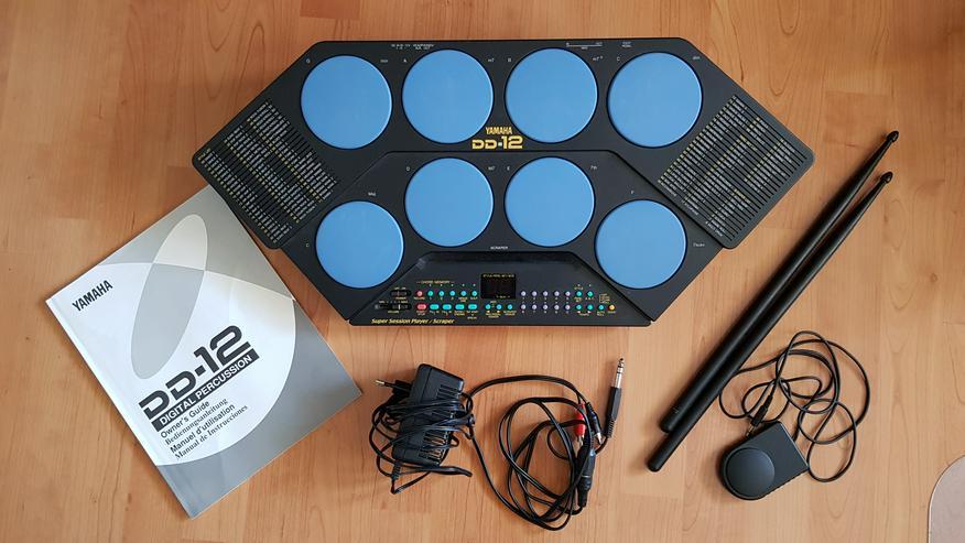 Yamaha Digital Percussion DD-12 DrumPad