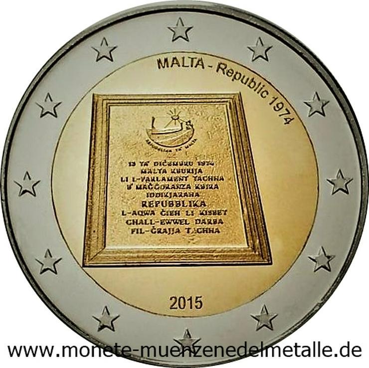 Bild 3: Euro Münzen 2 Euro bis 5 Euro aus Europa