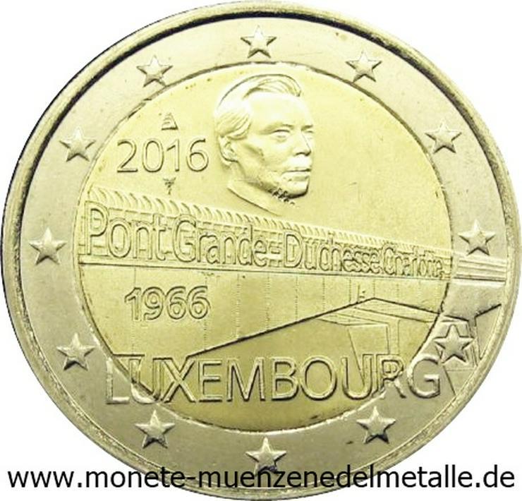 Bild 2: Euro Münzen 2 Euro bis 5 Euro aus Europa