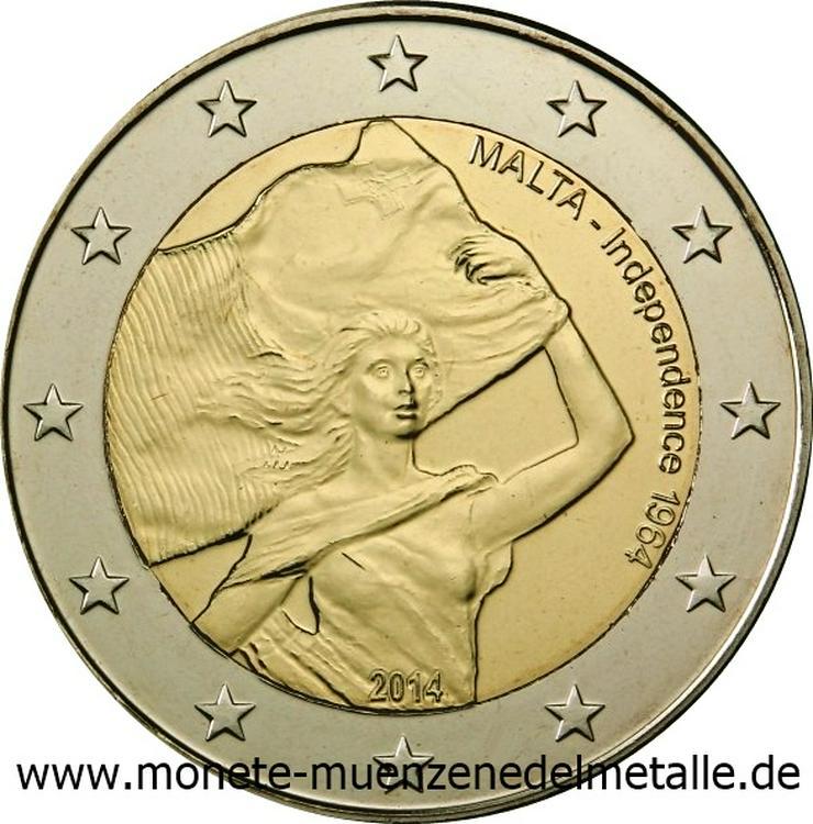 Euro Münzen 2 Euro bis 5 Euro aus Europa  - Münzen - Bild 1